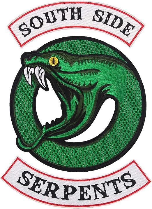 Riverdale Aufkleber Southside Serpents 50 St/ücke Stickers Wasserdichte Laptop Auto Motorrad Fahrrad Gep/äck Skateboard Jughead Jones Aufkleber Handy f/ür Kinder M/ädchen Jungen Damen Herren Fans 50pcs