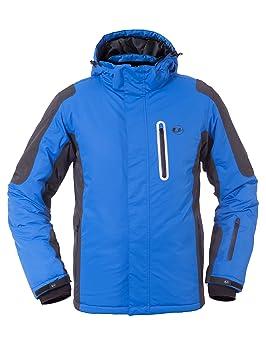 f615d231de183 Ultrasport Veste de ski pour homme technologie Ultraflow 10000 - Blouson  fonctionnel snowboard pour homme -