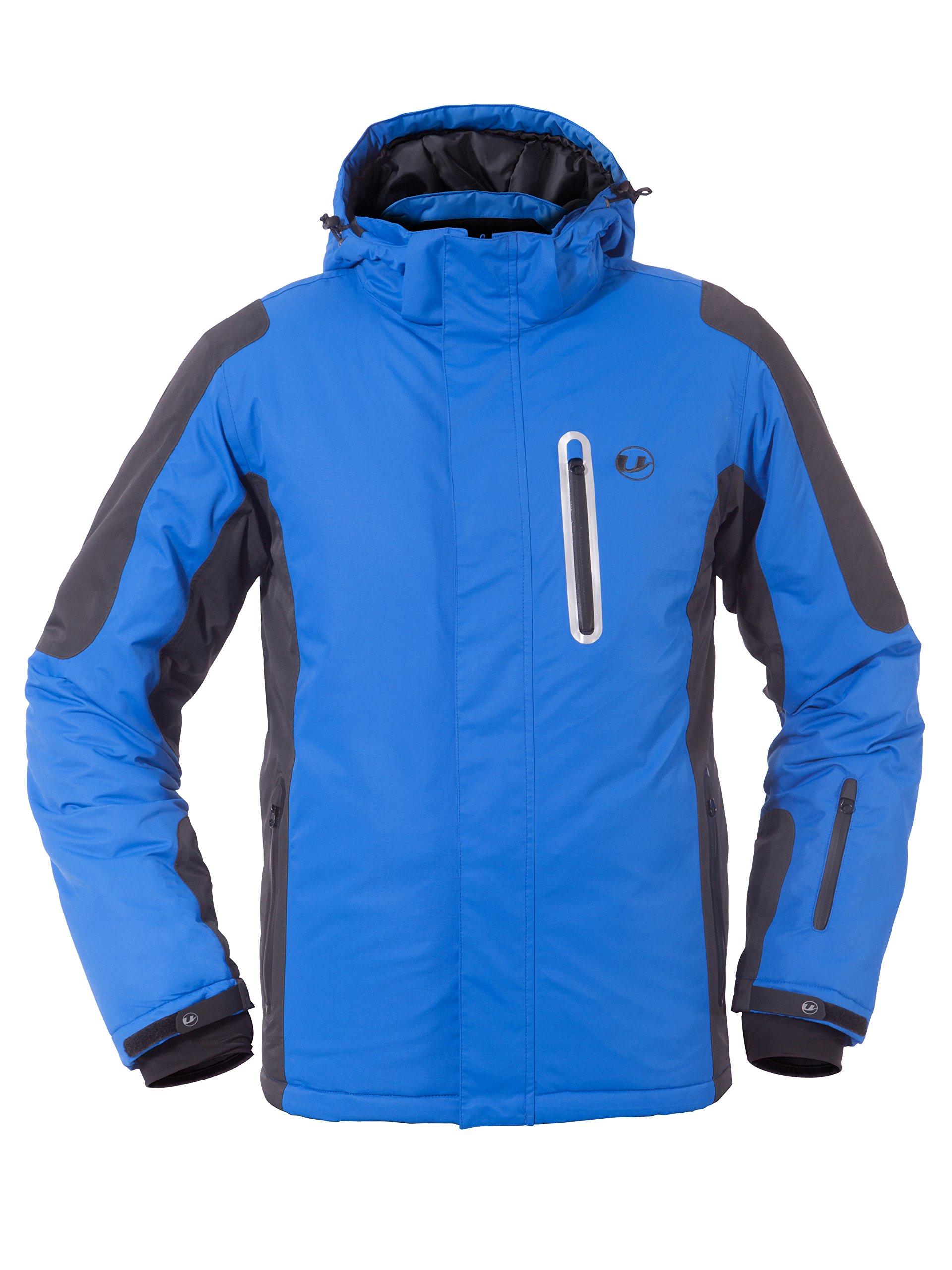 Ultrasport Veste de ski pour homme technologie Ultraflow 10000 - Blouson fonctionnel snowboard pour homme - Veste de sports d'hiver pour homme imperméable product image