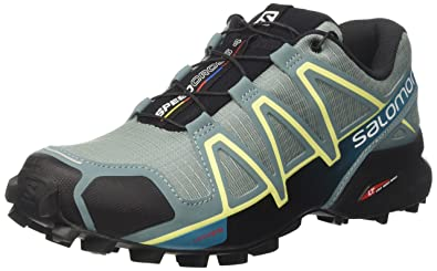 Salomon Damen Speedcross 4 Traillaufschuhe ArcticBlackEnamel Blue, 38 23 EU