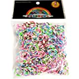 300 Stripey Design Friendship Loom Bands With 12 S Clasp and 1 Hook
