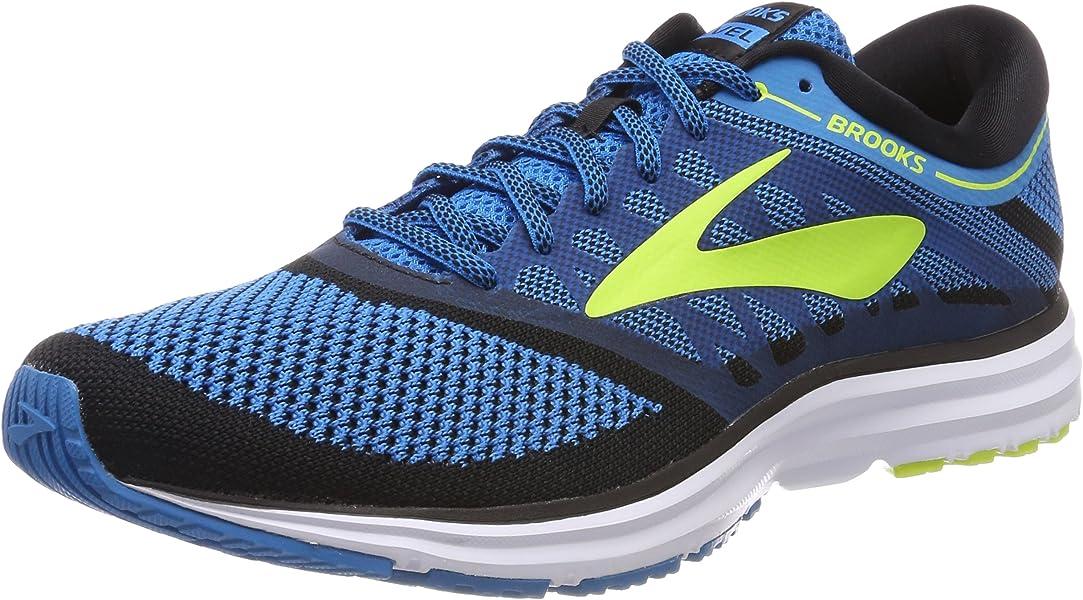 f2dbd486e6c Brooks Revel, Men's Running Shoes, Blue (Methyl Blue / Lime Popsicle /  Black), 7 UK (41 EU): Amazon.co.uk: Shoes & Bags