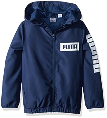 ed25d802230f Amazon.com  PUMA Little Boys  Windbreaker  Clothing