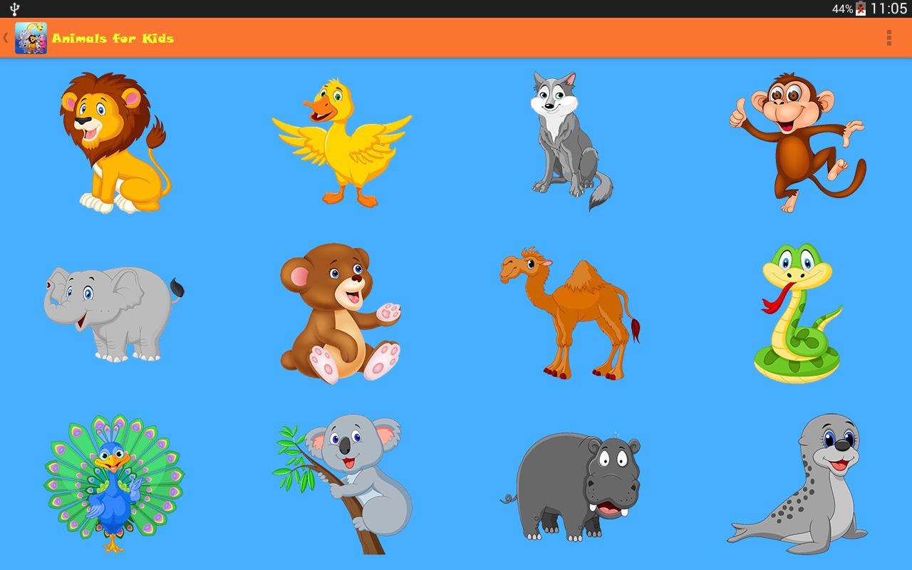 Animals for Kids: Amazon.com.br: Amazon Appstore