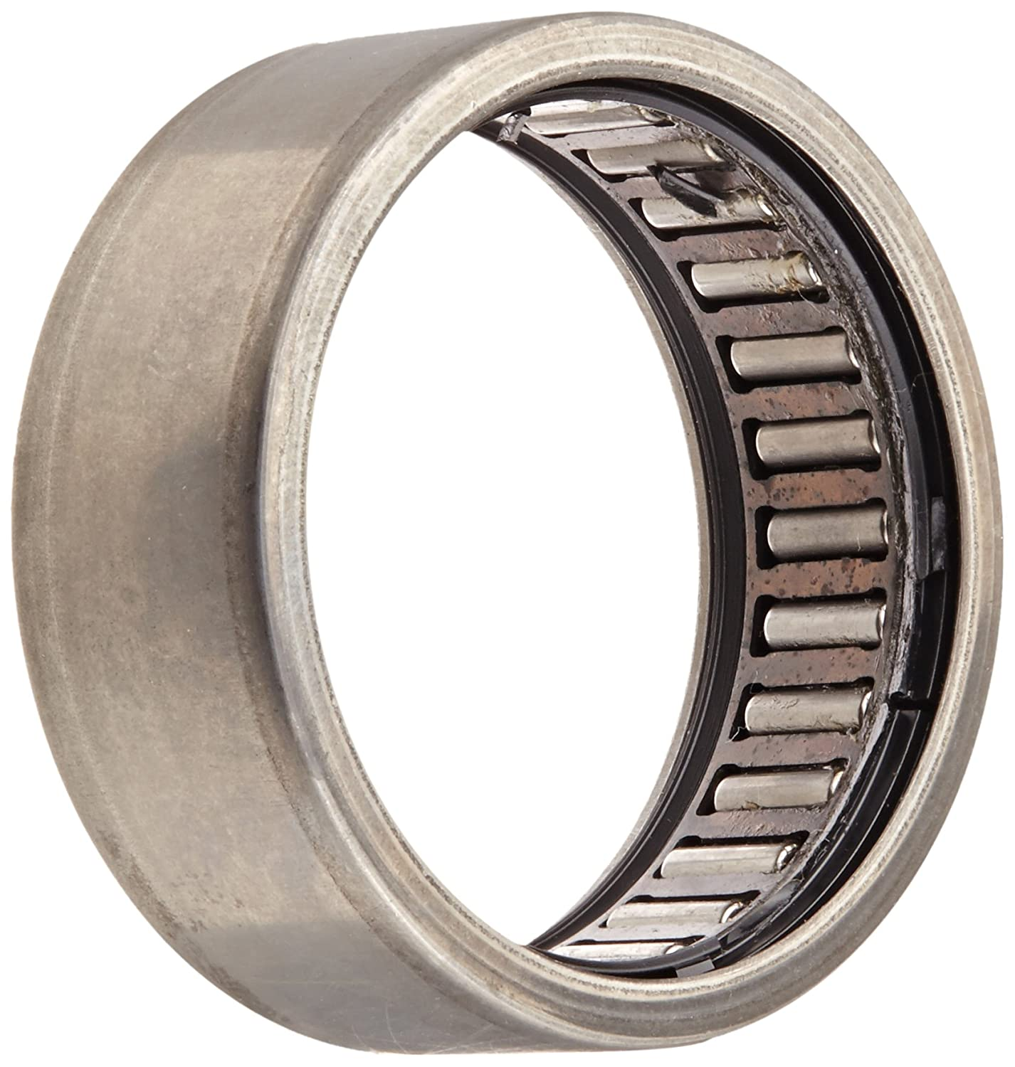 Steel Cage 35mm ID Outer Ring and Roller 5000rpm Maximum Rotational Speed 16mm Width Open End INA HK35162RS Needle Roller Bearing 42mm OD Metric Caged Drawn Cup Double Sealed