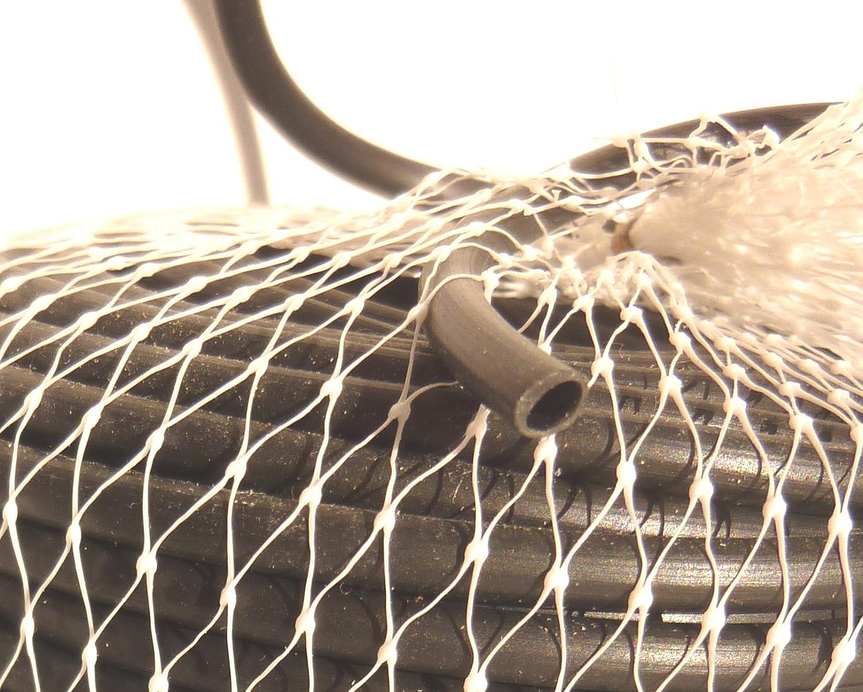 EXCOLO Kunstoff Bindeschlauch 400m /Ø3mm Bindeband BindegarnTomaten Stauden Rosen B/äume