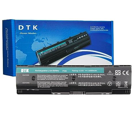 DTK Batería de Repuesto para Portátil HP PI06 PI09 710416-001 710417-001,