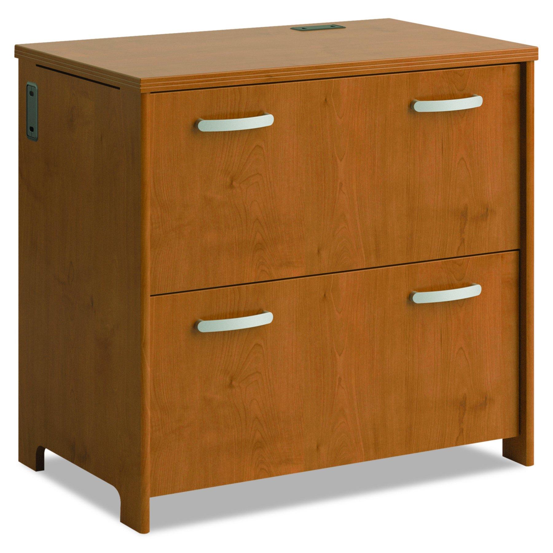 Bush Furniture PR76354 2-Drawer File, Natural Cherry by Bush Furniture (Image #1)