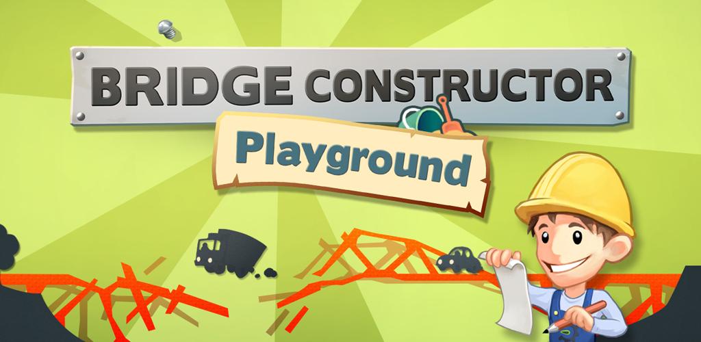 81MfoyJdkAL دانلود بازی پل سازی Bridge Constructor Playground v2.0 برای اندروید