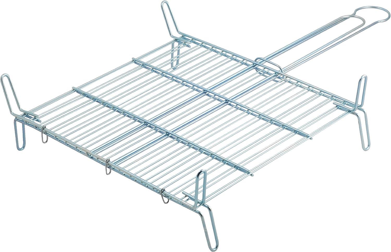 Metaltex - Parrilla doble especial, 40 x 40 centímetros