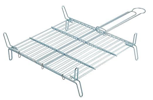 Metaltex - Parrilla doble especial, 40 x 40 centímetros: Amazon.es