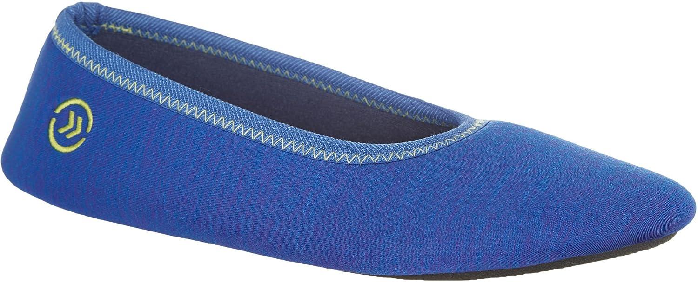 7591a845197 durable modeling Isotoner Women s Heathered Sport Drew Ballerina Slippers