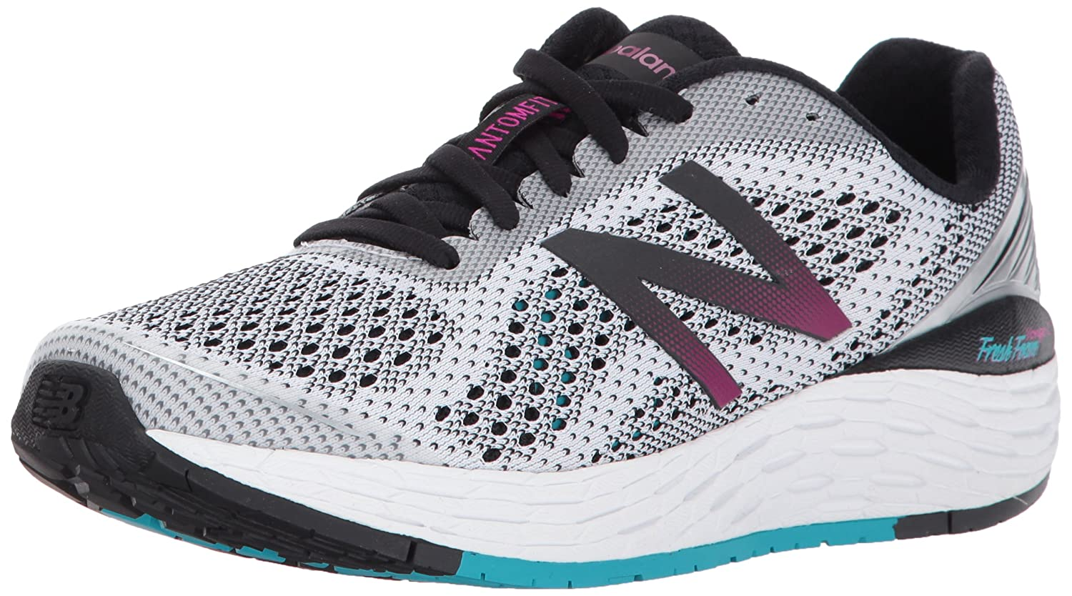 New Balance Women's VONGOV2 Running-Shoes B01MRN3UPO 8 B(M) US|White/Pisces
