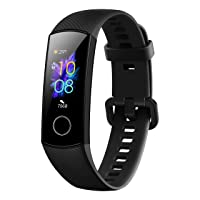 HONOR Band 5 (MeteoriteBlack)- Waterproof Full Color AMOLED Touchscreen