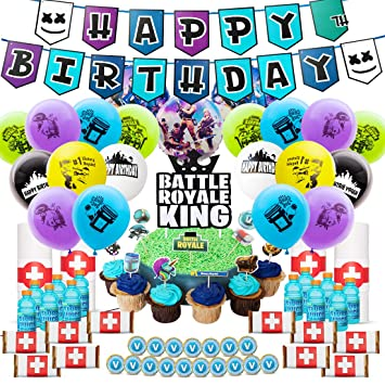 Amazon.com: Niteluo suministros de fiesta de cumpleaños para ...