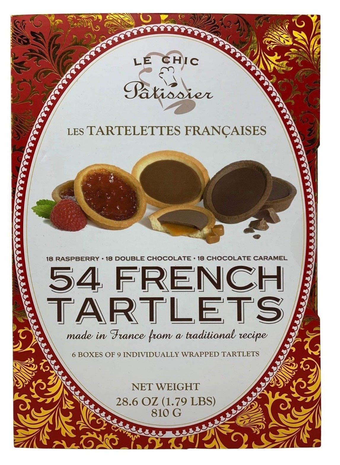 Le Chic Patissier Les Tartelettes Francaises 54 French Tartlets (1)