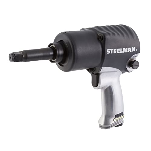 STEELMAN 102-4 1 2-Inch Heavy-Duty Impact Wrench with 2-Inch Anvil Twin Hammer