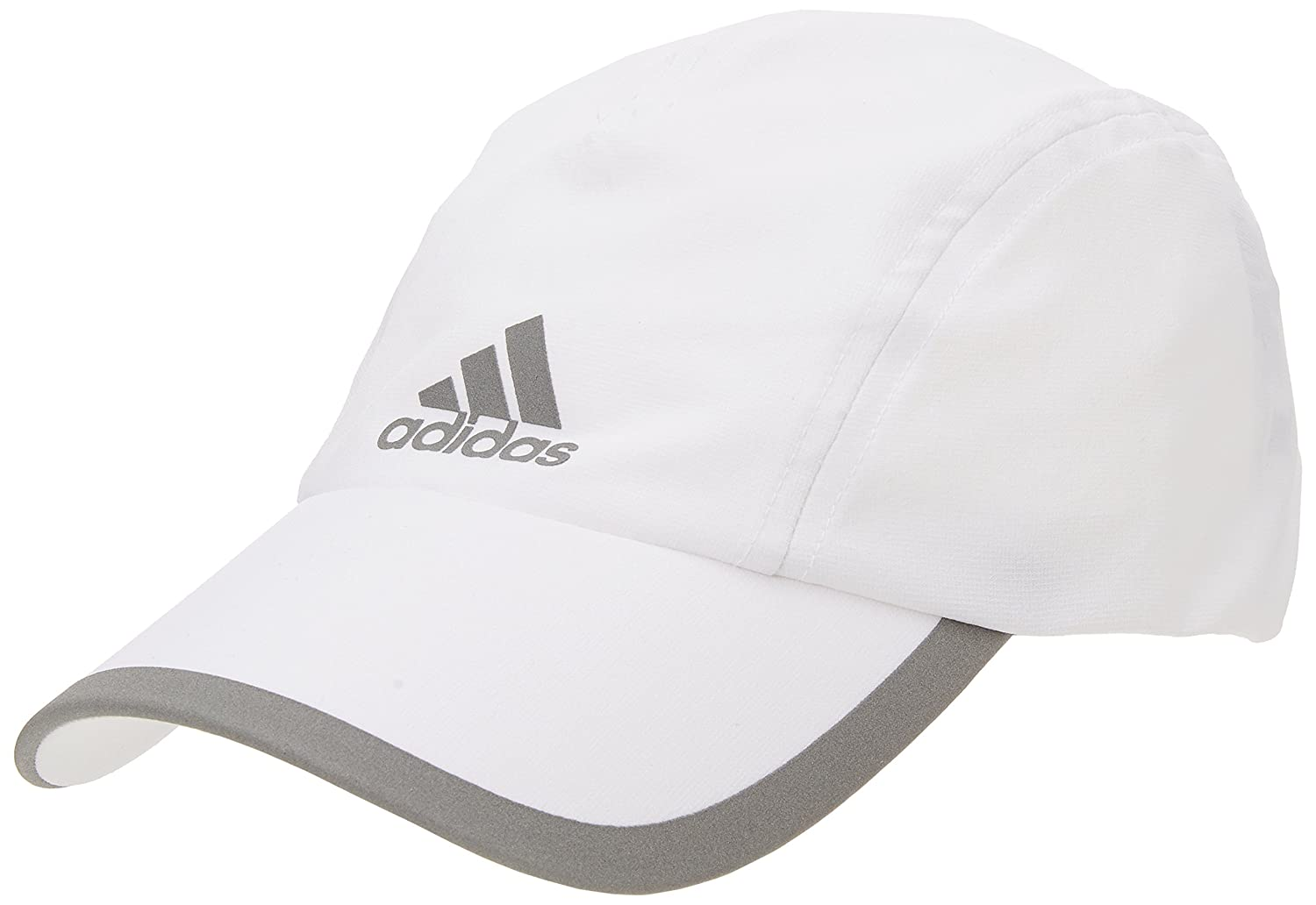 Adidas Women's Climalite Running Cap - White/White/Reflective Silver, One Size