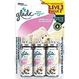 Desodorizador Glade Toque de Frescor Refil Lembranças de Infância Leve 3 Pague 2 12ml