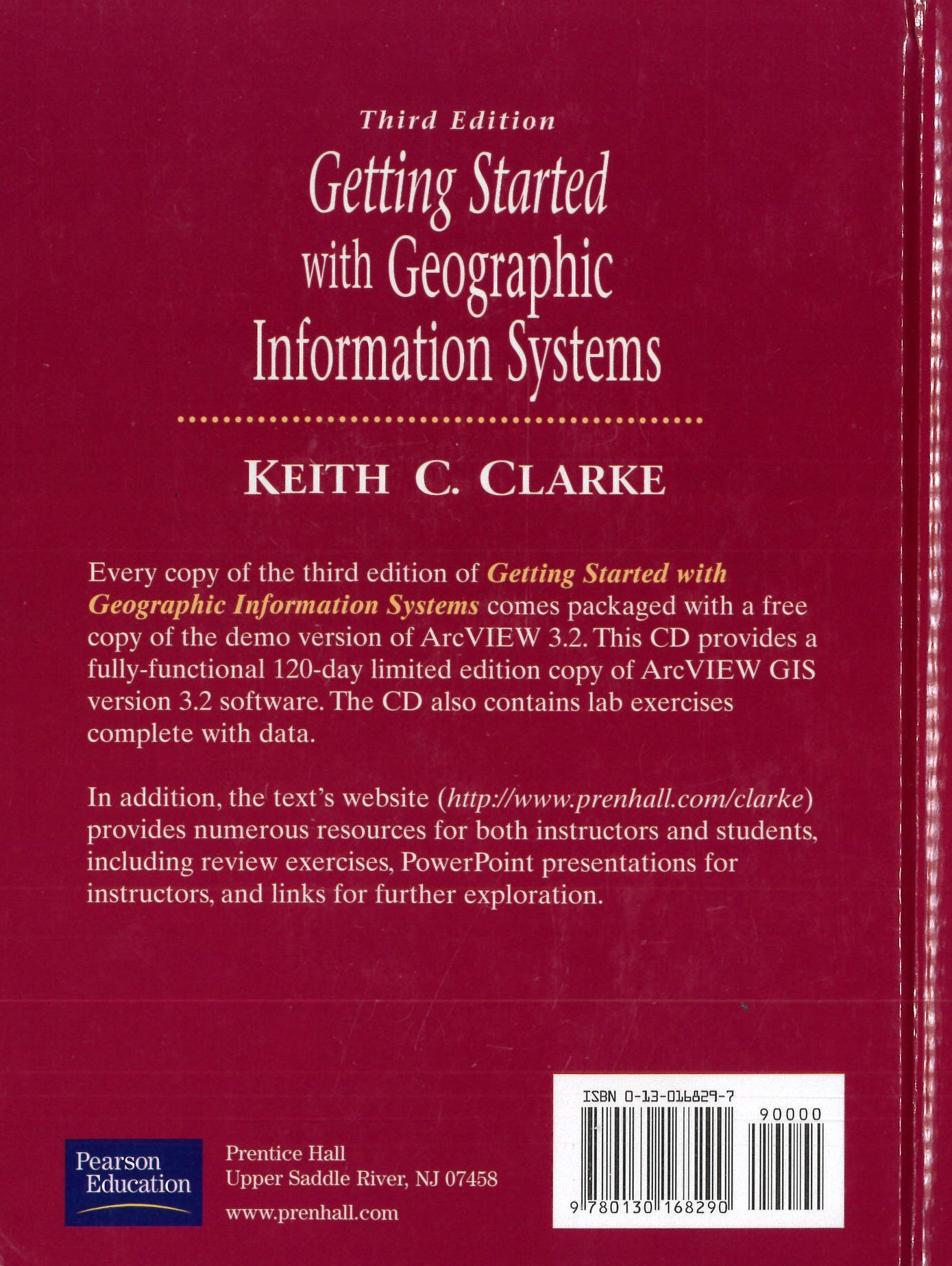 Getting Started with Geographic Information Systems Isbn