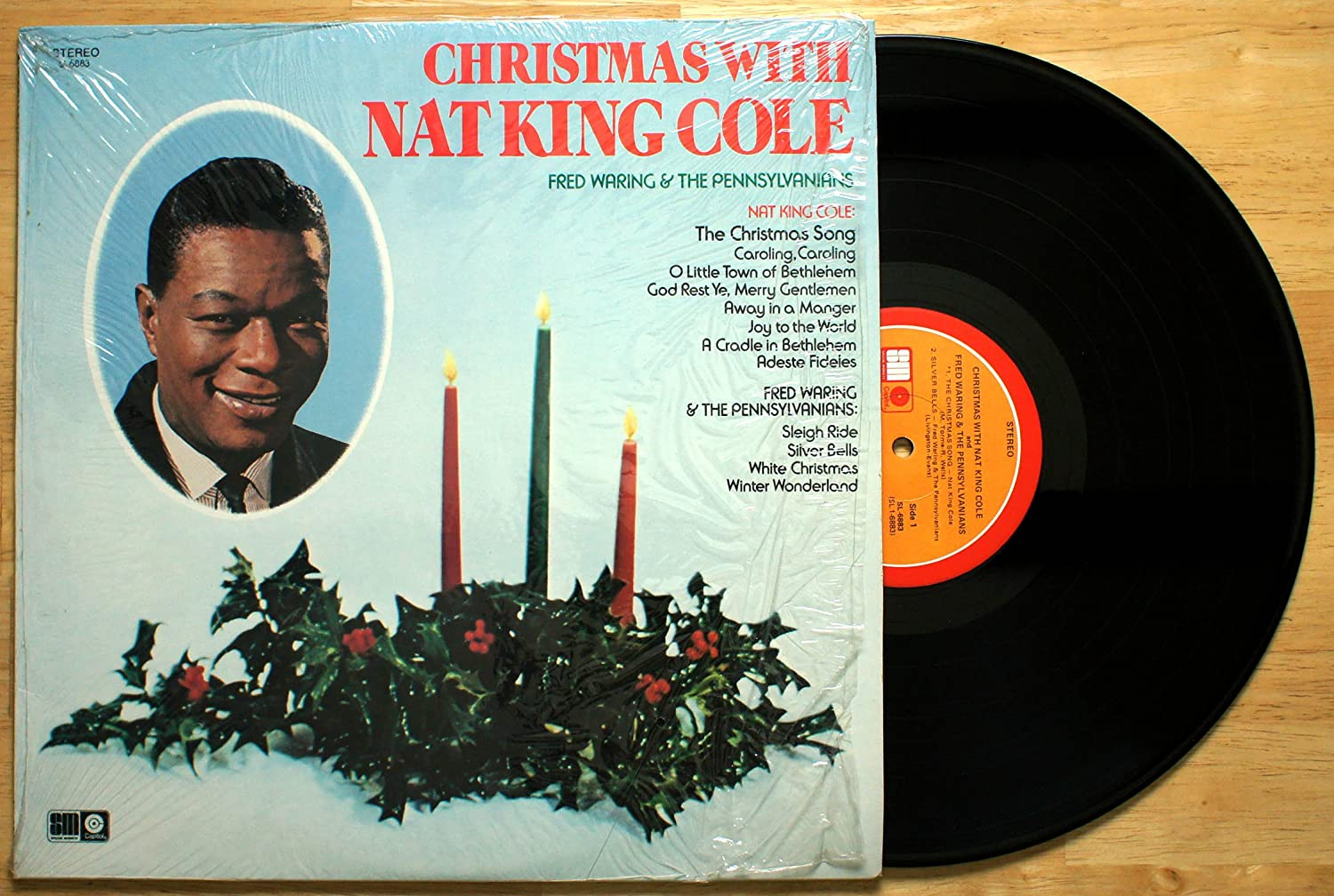 nat king cole fred waring the pennsylvanians christmas with nat king cole amazoncom music - Fred Christmas