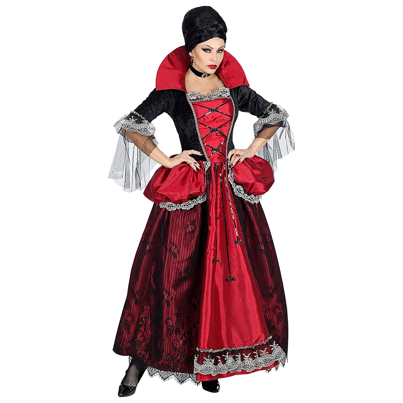 WIDMANN Disfraz de Vampiresa Verona para Mujer S: Amazon.es ...