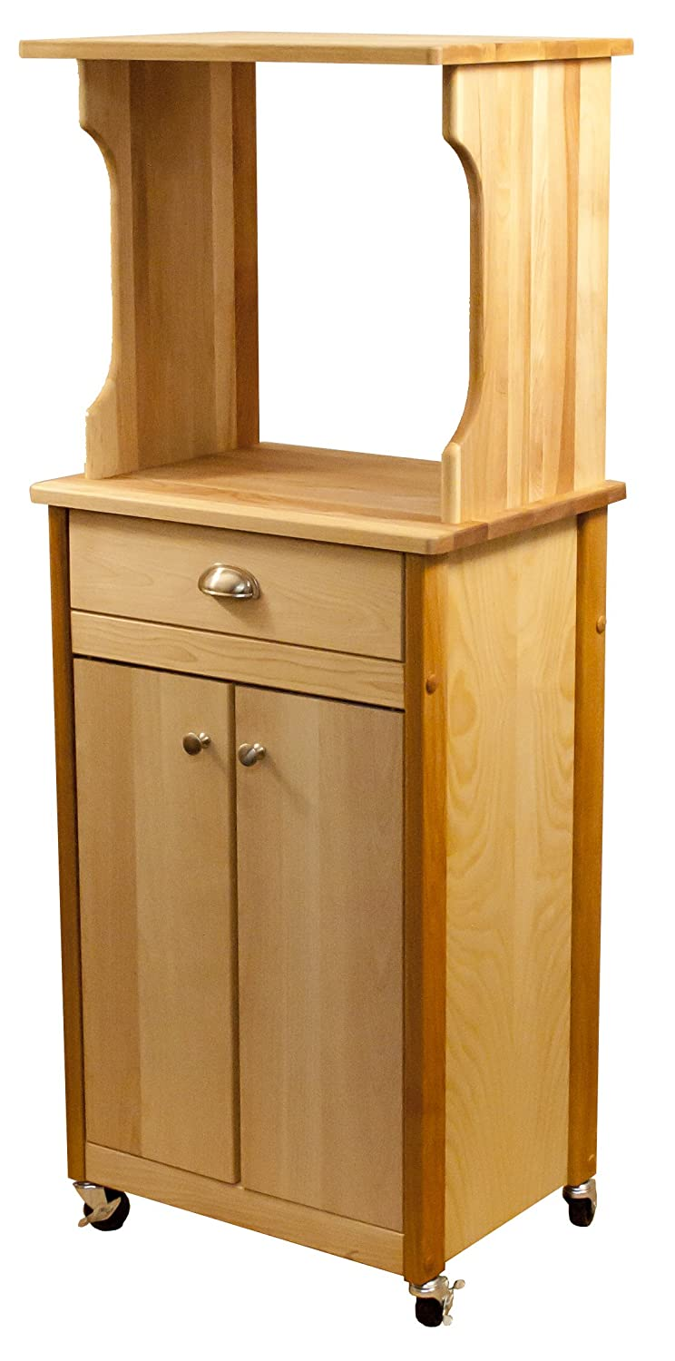 Catskill Craftsmen Hutch Top Cart with Enclosed Storage Inc. 51530