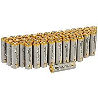 Deals on AmazonBasics AA Performance Alkaline Batteries 48 Count