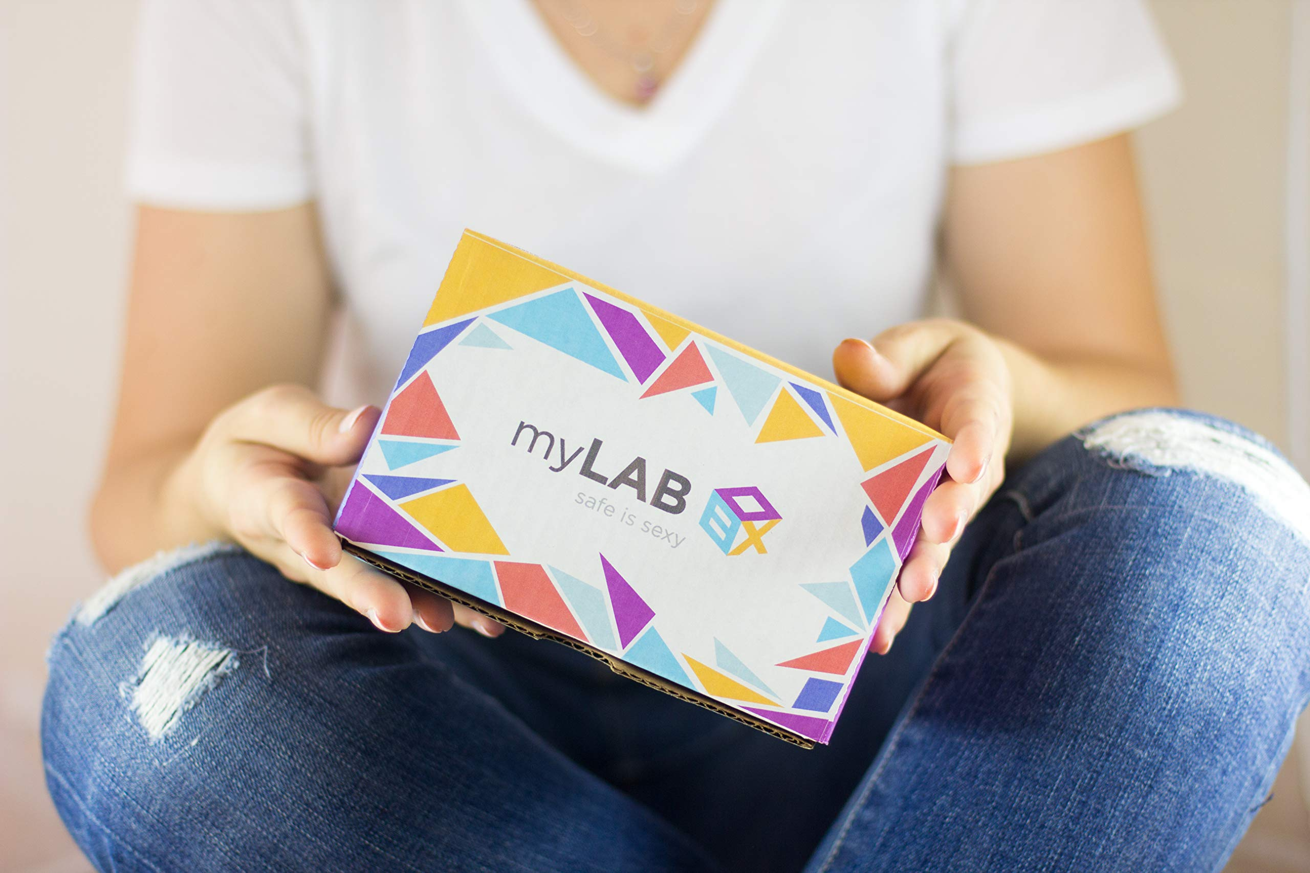 STD at Home Test for Women Genital Herpes by myLAB Box by myLAB Box