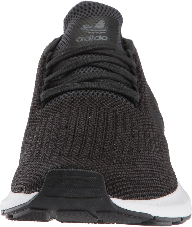 adidas Originals Men's Swift Running Shoe Carbon/Core Black/Medium Grey Heather