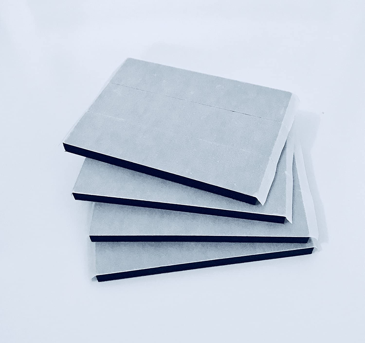 12 Number Plate Double Sided Foam Adhesive Fixing Pads Sticky Pads 6mm Oversized BEK-Trading Ltd