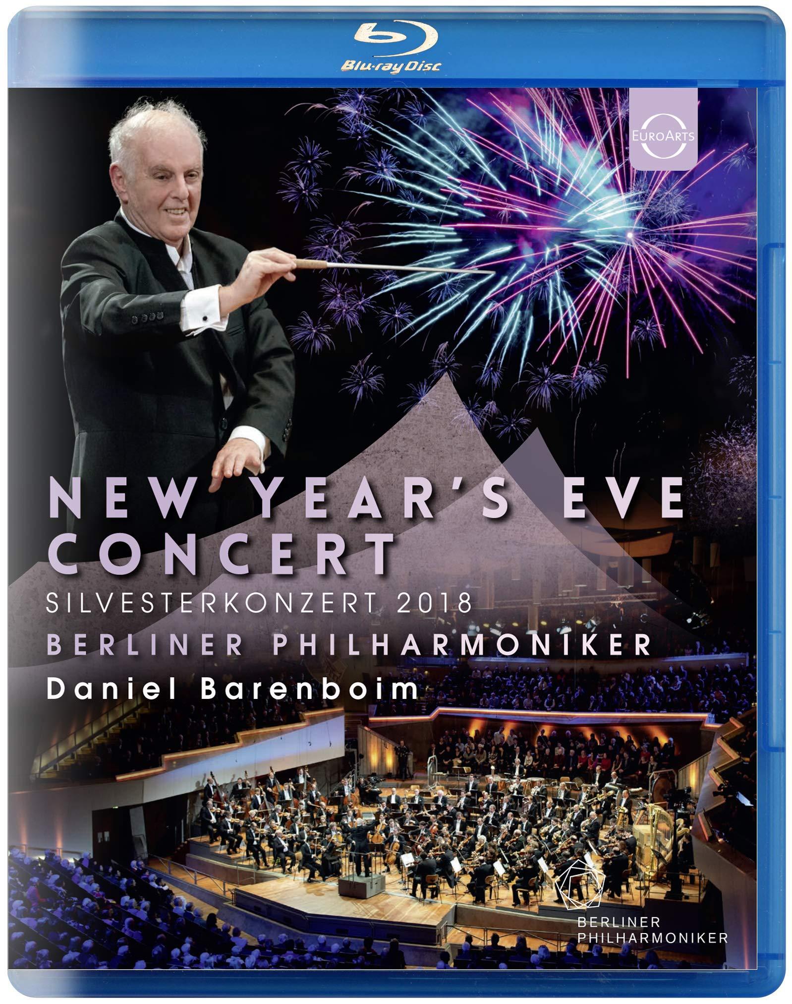 Blu-ray : DANIEL BARENBOIM & BERLINER PHILHARMONIKER - New Year's Eve Concert 2018 (United Kingdom - Import)