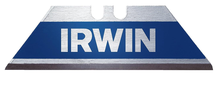 Irwin 10504241 - Pack de 10 cuchillas trapezoidales (Bi-metal) IRW10504241