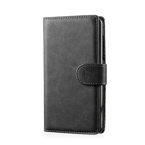 32nd PU Leder Mappen Hülle Flip Case Cover für Samsung Galaxy Core Prime, Ledertasche hüllen mit Magnetverschluss und Kartens