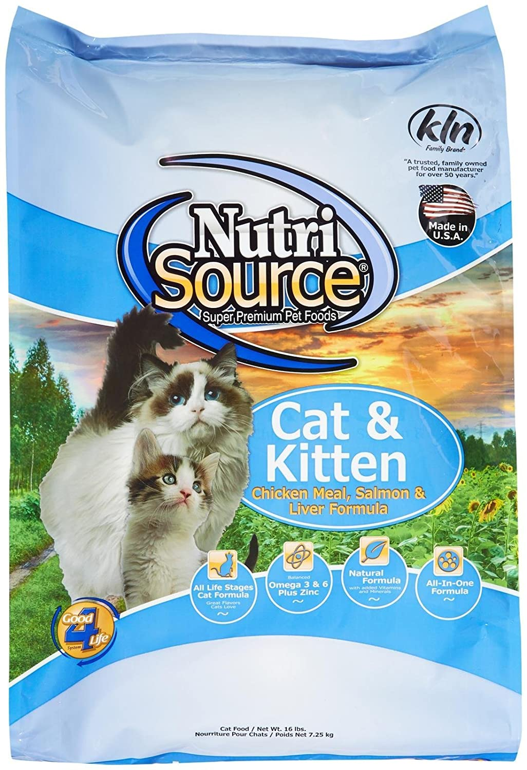 TuffyS Pet Food Nutrisource Salmon And Liver Formula Dry Cat Food