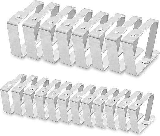 Pinzas Sujeta Manteles (Pack de 20) - 12 Pequeños (4.5cm x 4cm ...