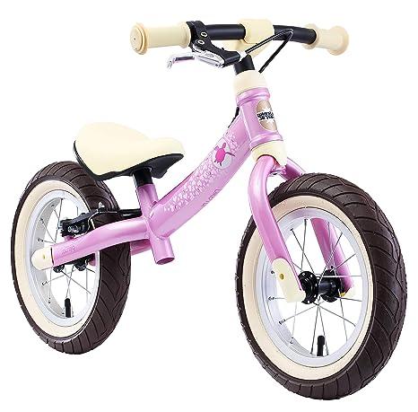 BIKESTAR 2-en-1 Bicicleta sin Pedales para niños y niñas 3-4