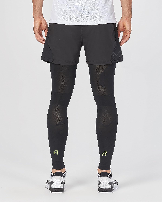 8a942b6f51 Amazon.com : 2XU Unisex Flex Recovery Compression Leg Sleeves : Sports &  Outdoors