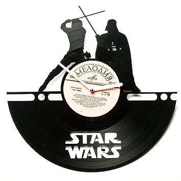 Amazon.Com: Star Wars Vinyl Clocks - Unique Clocks Wall - Kitchen