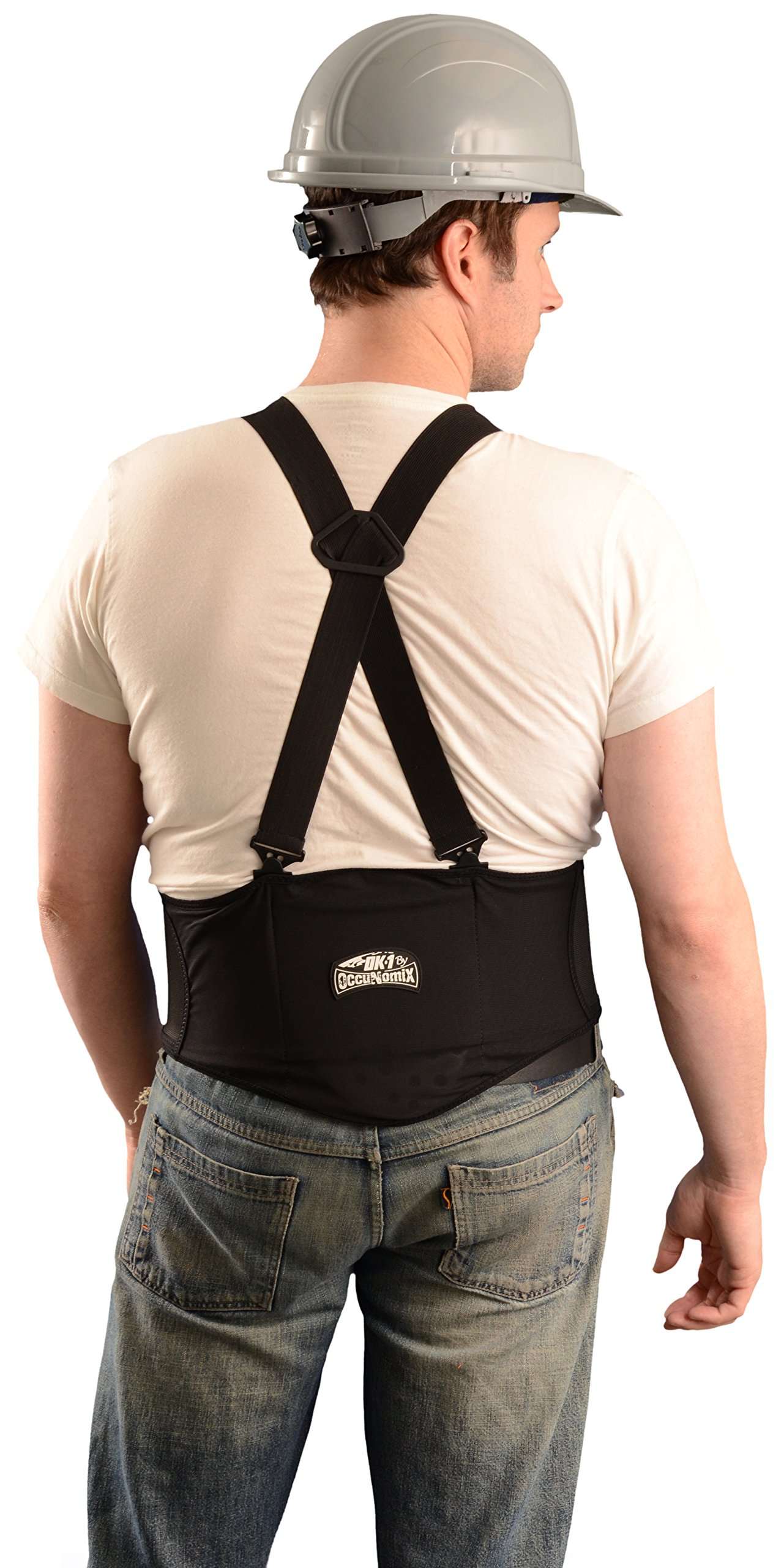 OK-1 92400 Black Lumbar Back Belt, Large by Unknown (Image #2)