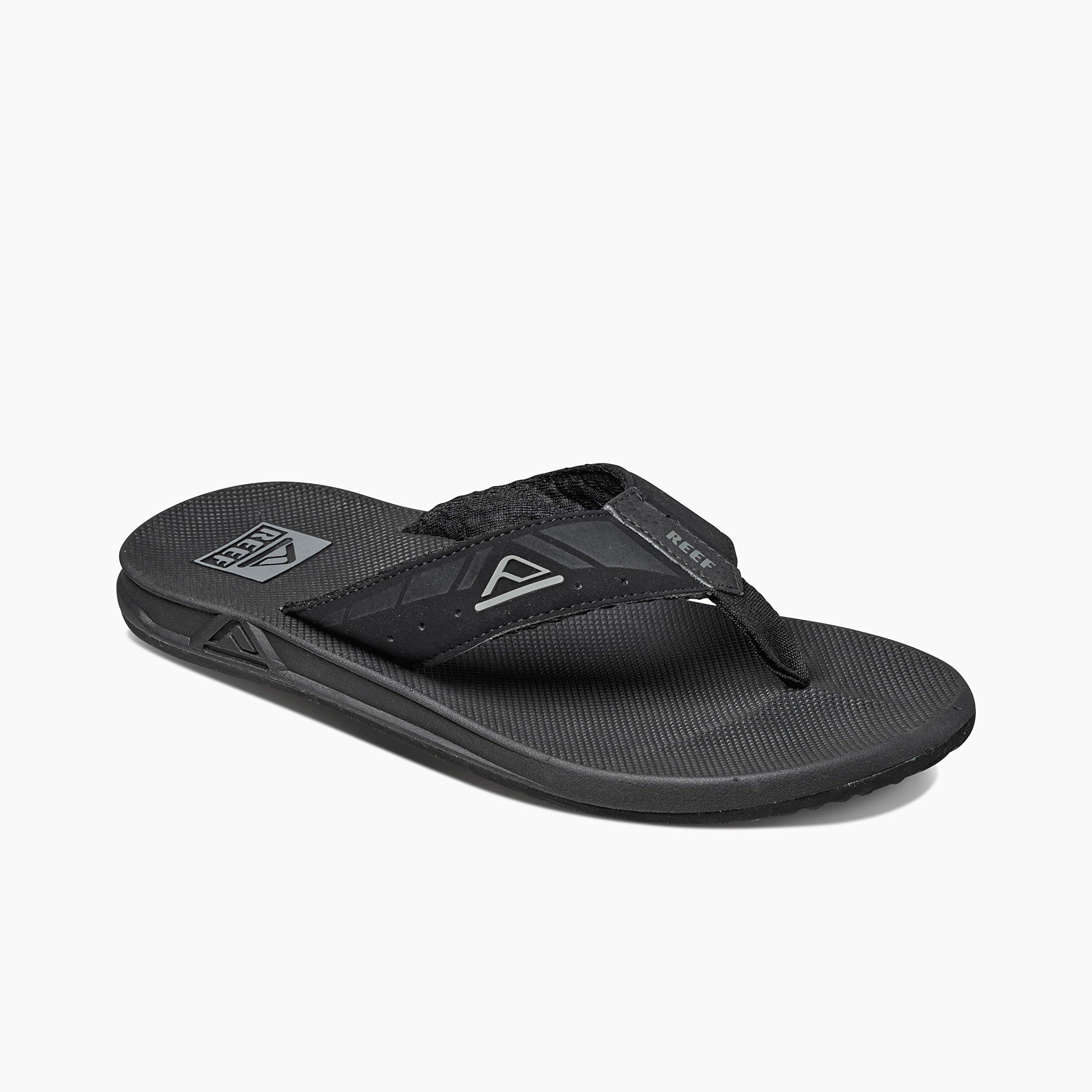 9f4912902b10 Amazon.com  REEF  Mens Black Sandals