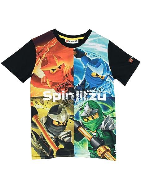 Lego Ninjago Boys Masters of Spinjitzu T-