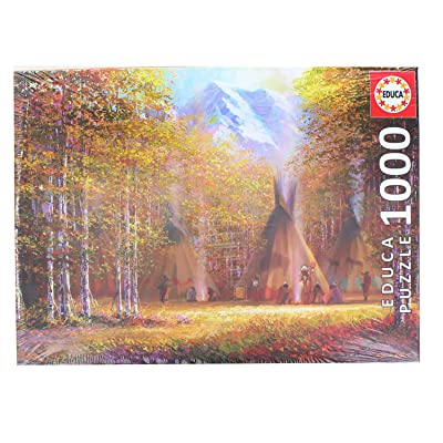 Educa 1000 Pc Fall - Smoke Puzzle: Toys & Games