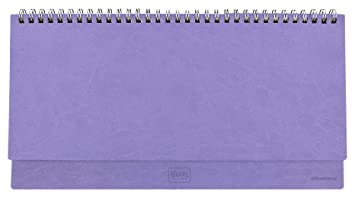 Legami AG121753 - Agenda 2018 de mesa, semanal, 13 meses, color lila