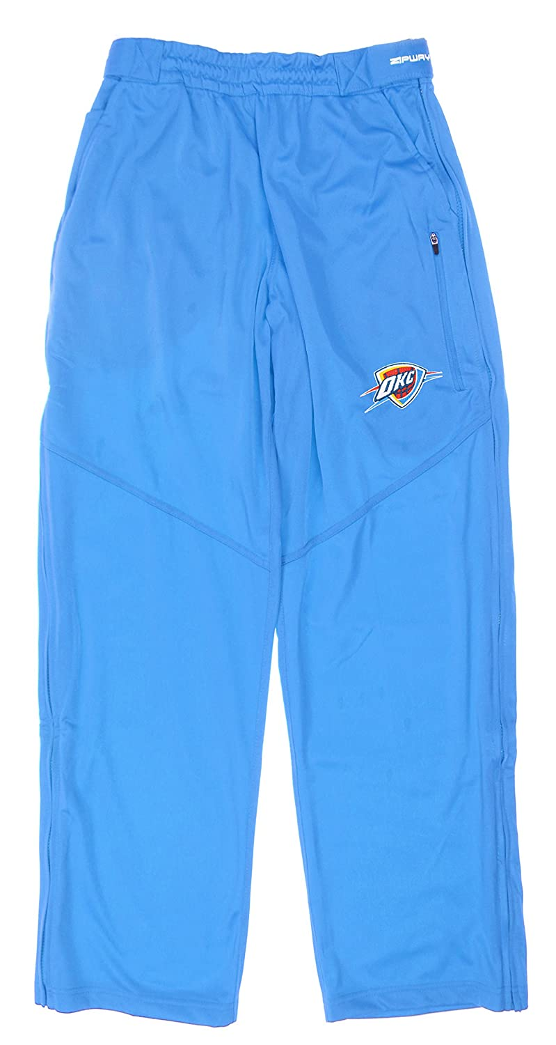 Oklahoma City Thunder NBA Youth Big Boys Ruler Track Pants - Blue Zipway