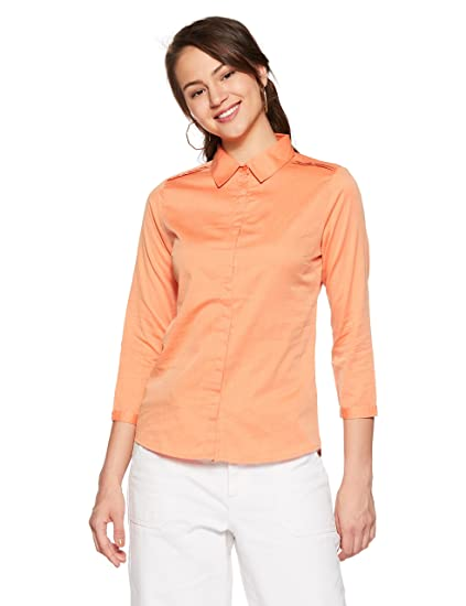 Arrow Woman Body Blouse Shirt Shirts at amazon