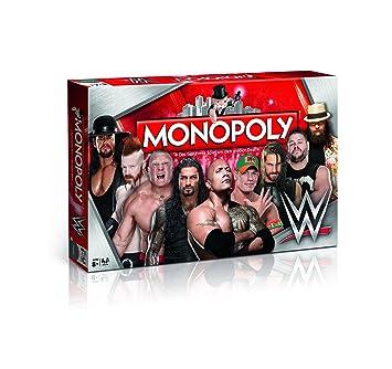 Winning Moves Juego De Mesa 44314 De Monopoly Lucha Libre De La Wwe