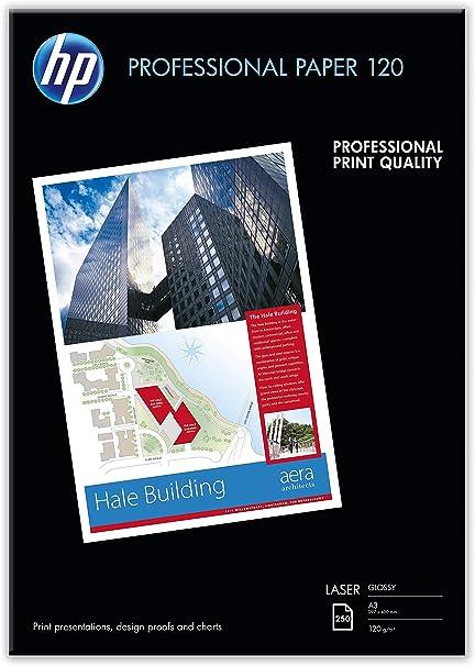 HP Professional CG969A - Papel brillante para impresora laser (250 ...