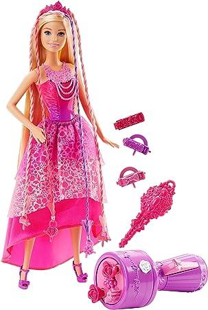 Barbie poupée Princesse Tresses Magiques