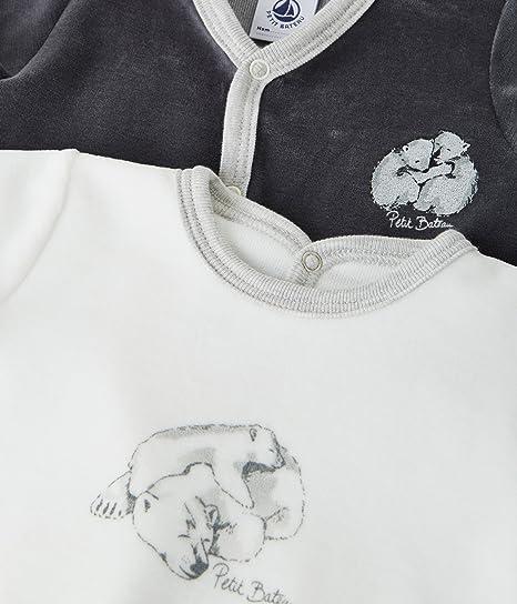 Petit Bateau Lot Luck Conjuntos de Pijama, Unisex Bebé: Amazon.es: Ropa y accesorios
